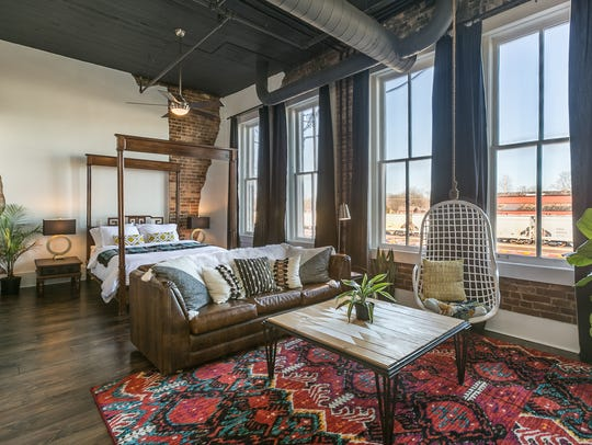 Charity Evans' Commercial Street Airbnb loft. Springfield City Council will vote on measures regulating such short-term rentals on Jan. 28.