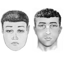 Glendale police released these sketches of the possible assailant or assailants.