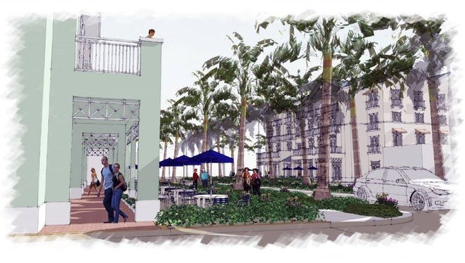 A project bringing new businesses and residents to downtown Bonita Springs is in the works. Developers are hopeful construction could begin by fall, although problems with zoning applications are delaying project. City Council has yet to approve the final zoning changes.