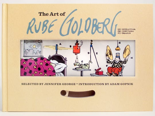 The Art of Rube Goldberg_Cover Art