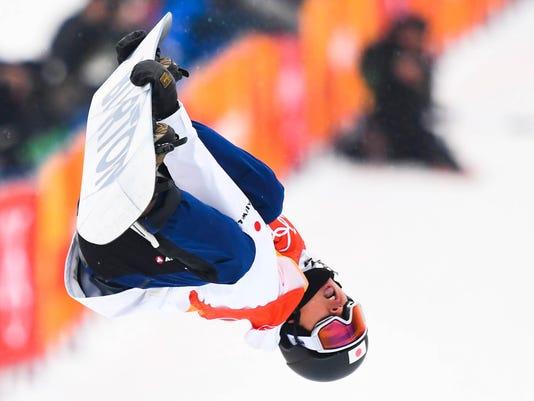 Olympics: Snowboard-Mens Halfpipe Final
