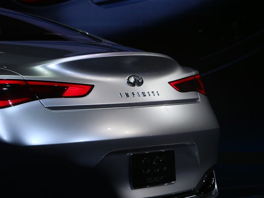 The Infiniti Q60 luxury coupe concept is introduced
