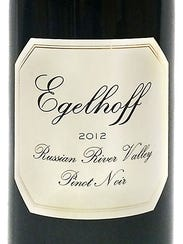 The 2012 Egelhoff Russian River Valley pinot noir is