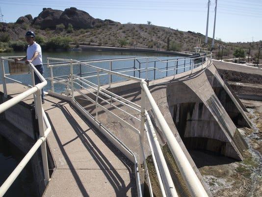 Crosscut hydropower