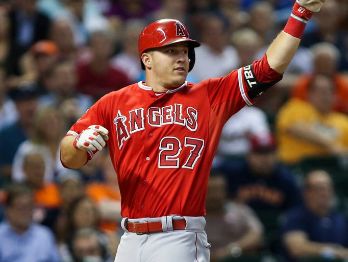 1. Mike Trout, OF, Angels