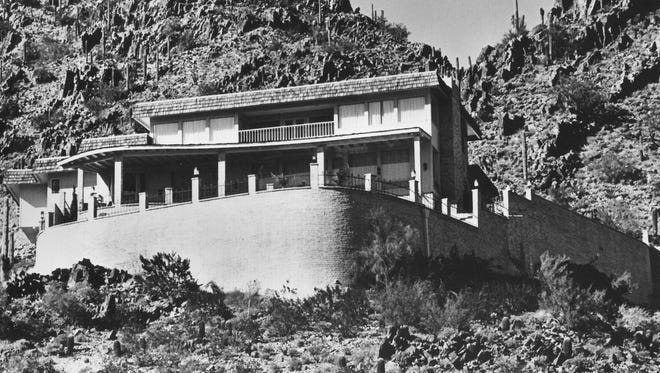 Castro and his wife Pat were the only Arizona Governors to live in this mansion in Clearwater Hills. It was donated by  KOOL Television owner Tom Chauncey in May of 1975.
