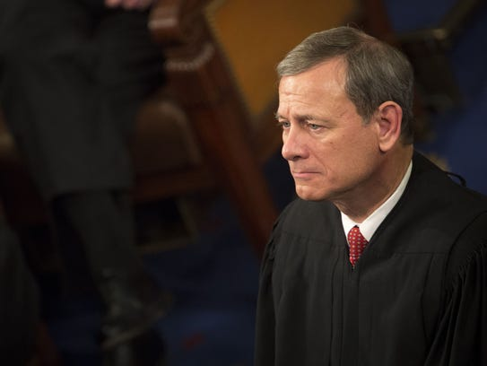 Supreme Court Chief Justice John Roberts favors a go-slow