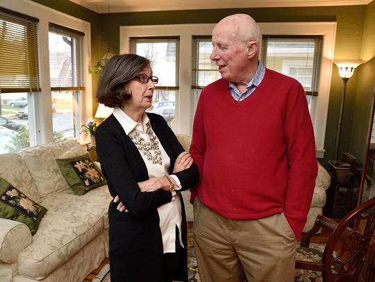 Rich and Judy McKay in their home in Teaneck