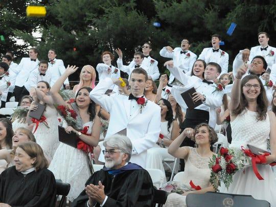Commencement at Glen Ridge High School