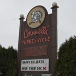 Exterior shot of Cornwell's Turkeyville.