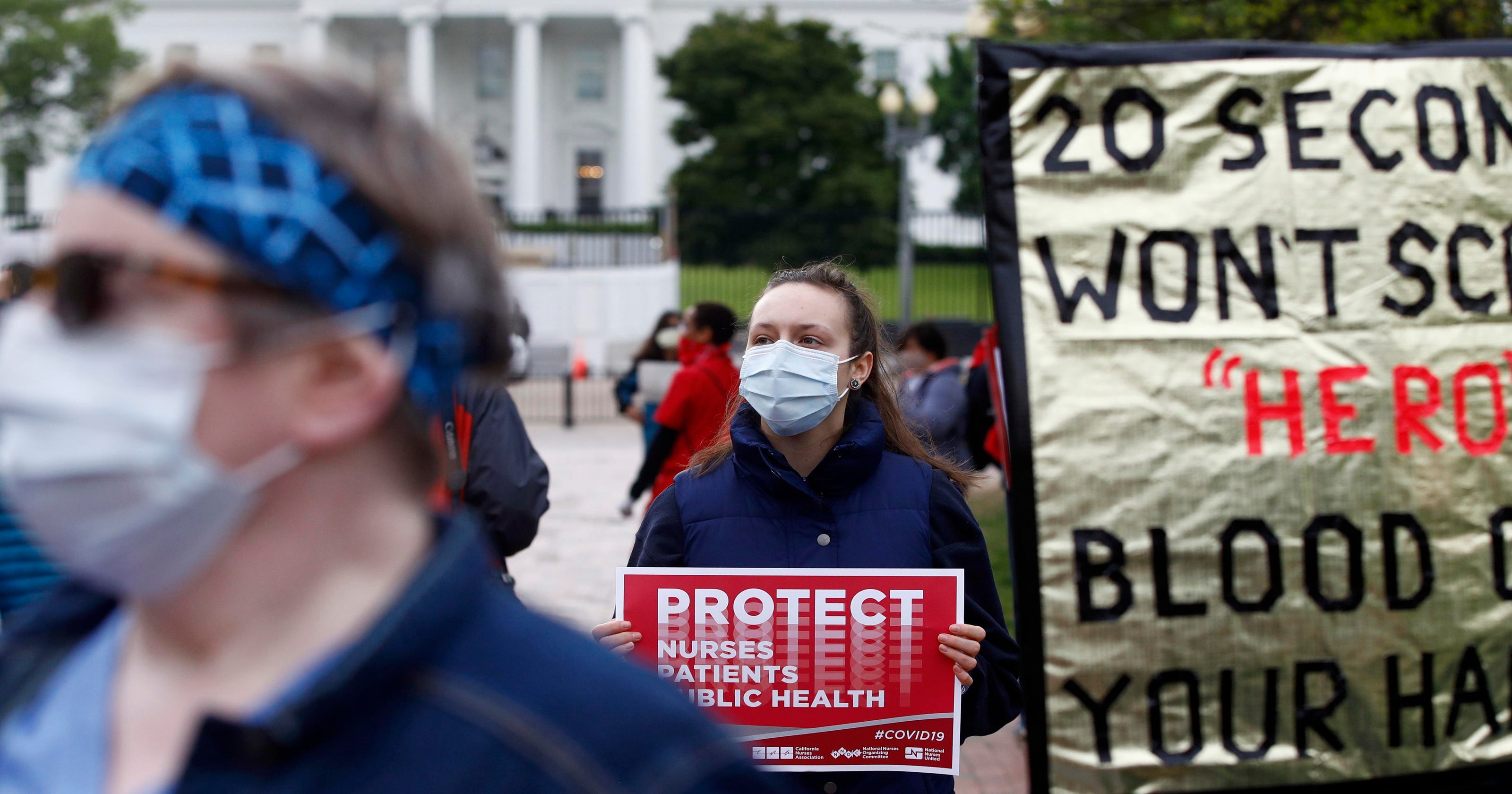 Nurses step up, citizens act out, governors recalibrate: News from around our 50 states