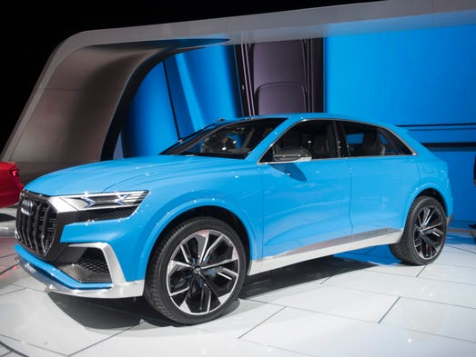 Audi Q8: The bold Q8 SUV design concept is Q7's doppelganger