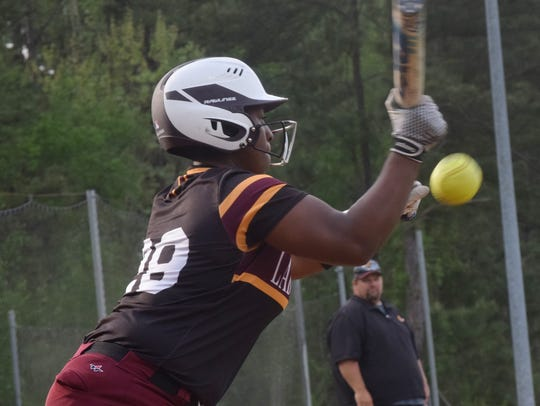 Natchitoches Central designated player Adriana Brown