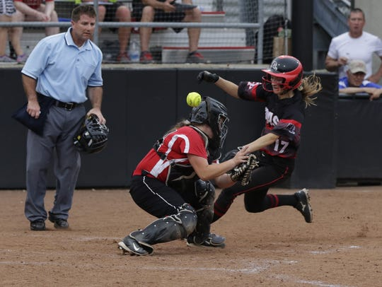 Senior Ally Miklesh has made a habit of scoring runs and making things happen as the leadoff hitter for SPASH all four years of her high school softball career.