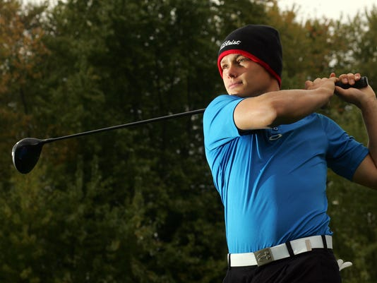 Coshocton High School senior Gage Bosson qualified for the state golf tournament.