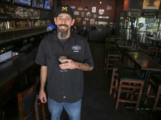 Mike Rose is the brewer for South Cypress Brewing. He and his brother own The Brass Tap in North Naples, which serves his beer and houses the brewing operation.