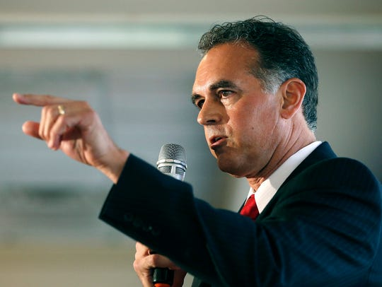 In this April 26, 2016 file photo, Danny Tarkanian