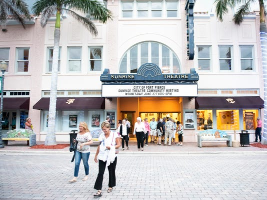 Funding The Sunrise Theatre In Fort Pierce