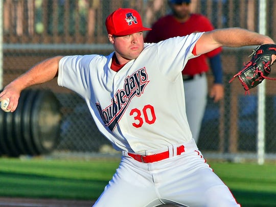 Central grad Aaron Barrett, who was on the mend with the Auburn Doubledays, hopes to return to the parent Washington Nationals.