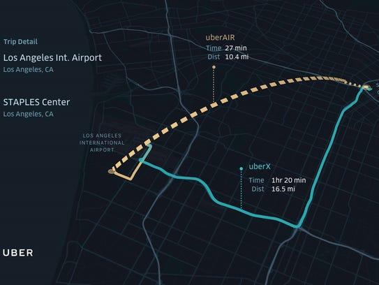 UberAir potrebbe ridurre i tempi di viaggio per i pendolari di Los Angeles