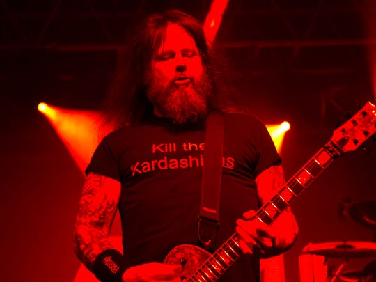 Metal legends Slayer performs at the Bonnaroo Music