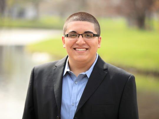 Taylor City Council President Alex Garza is a Democrat