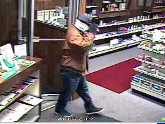This man is suspected of robbing  Fifield Pharmacy
