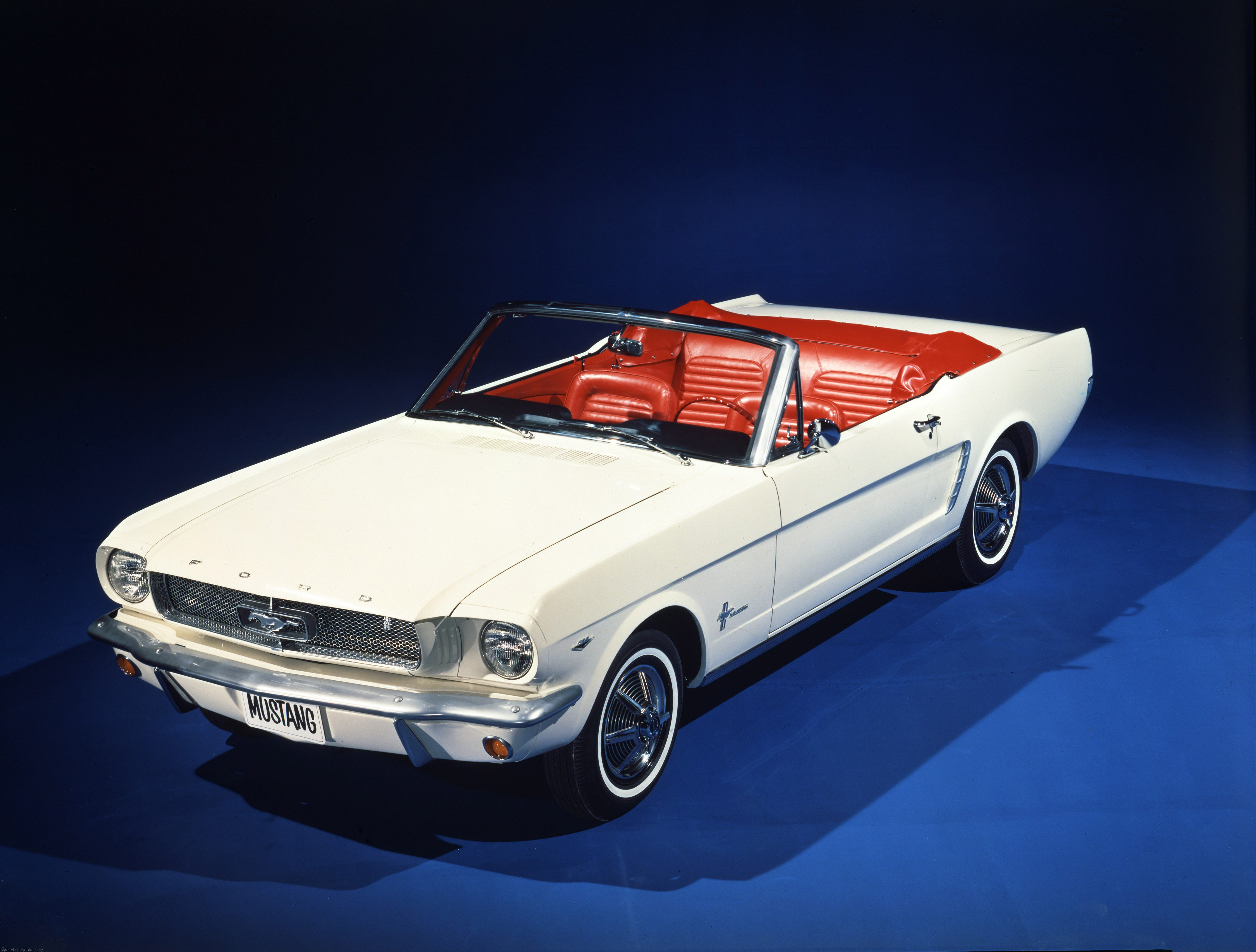 photo gallery, timeline 50 years of ford mustangs