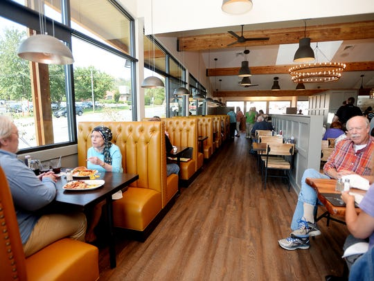 Cornerstone closed in April for a top-to-bottom renovation,