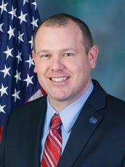 Rep. Jesse Topper, R-Bedford, representing Pennsylvania's