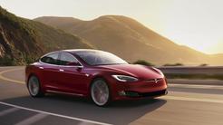 Model S New Red Sunset