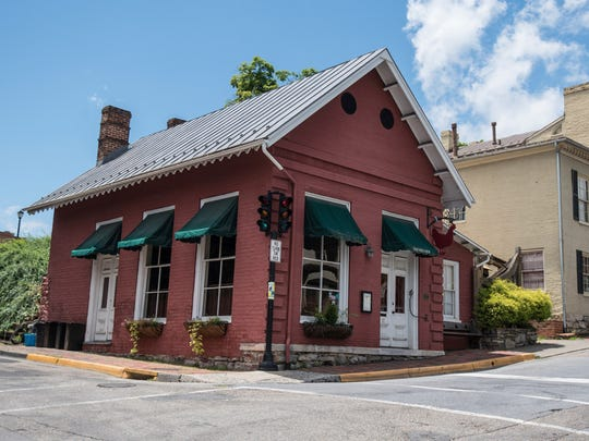 File photo taken in 2018 shows the Red Hen restaurant