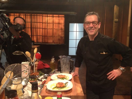 "Ted Allen, host of Food Network's ""Chopped,""  headlines"