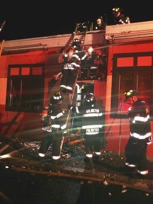 Arlington Fire District responded to a fire at Coyote Grill in the Town of Poughkeepsie Friday night.