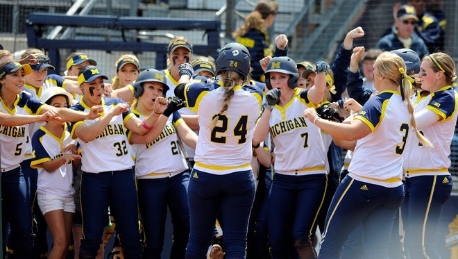 Michigan's softball team went 52-7 last season.