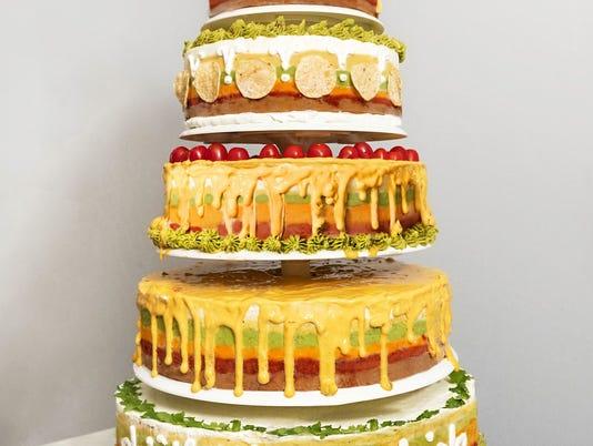 Tostitos Wedding Cake