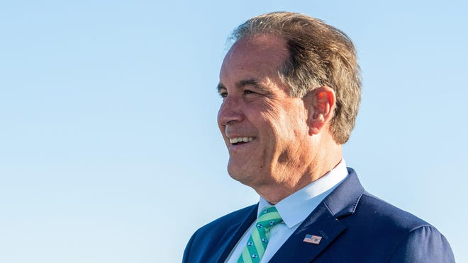 CBS Sports broadcaster Jim Nantz will be on-site at the Charles Schwab Challenge this week as the PGA Tour returns.