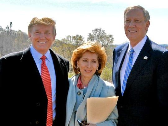 Donald Trump, State Parks Commissioner Bernadette Castro