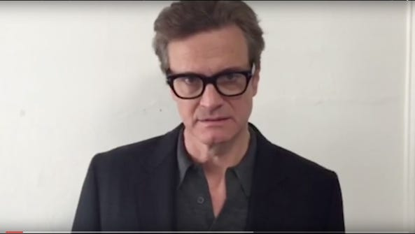 Colin Firth is one of many celebrities in a new UN