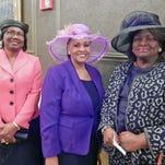 Betty Sutton, Hazelhurst, Maxine Thompson, Jackson and Dora Coleman, Raymond.