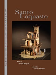 "The cover of the book ""The Designs of Santo Loquasto"" by Arnold Wengrow."