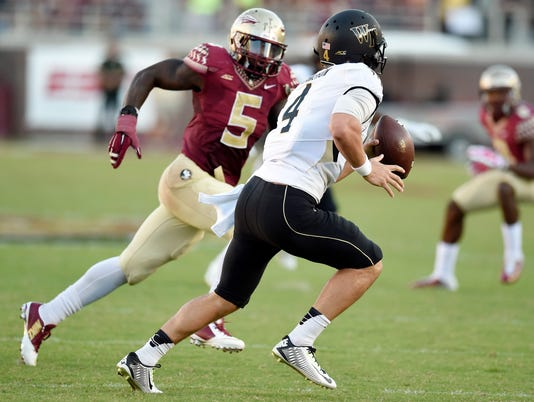 NCAA Football: Wake Forest at Florida State