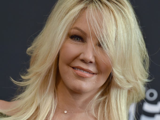Heather Locklear, age 56, was born in Westwood Calif.