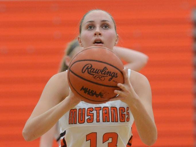 Northville's Jessica Moorman, a 6-foot junior, returns after earning first team All-Area honors.
