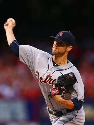 Tigers pitcher Shane Greene