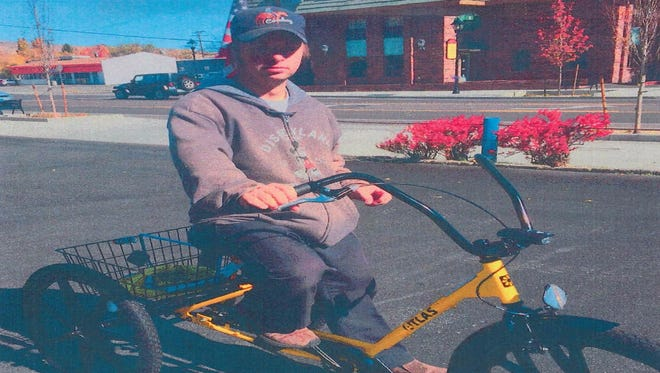 Carson City detectives released a photo of a stolen trike bicycle they are searching for, which was taken from a handicapped man at Carson Mall on Monday. Authorities say the man uses the bike as his sole transportation.