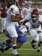 McCallie's JaVaughn Craig tackles MBA running back