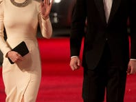Duchess Kate and Prince William attended the premiere of 'Mandela: Long Walk to Freedom' in London, Dec. 5, 2013.