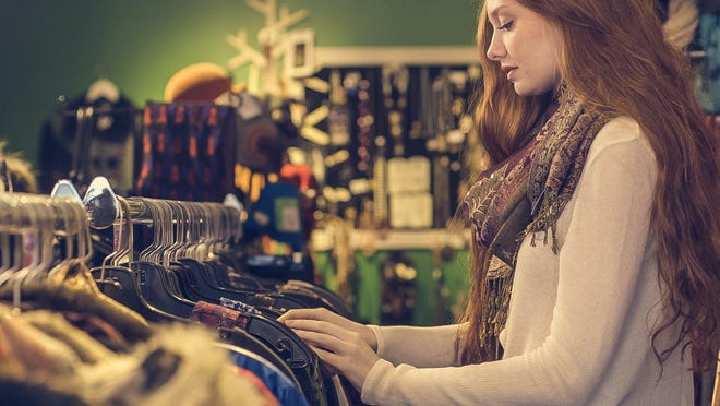 While there might be stigma around thrift shop shopping, you can actually find some interesting items for a cheap price.