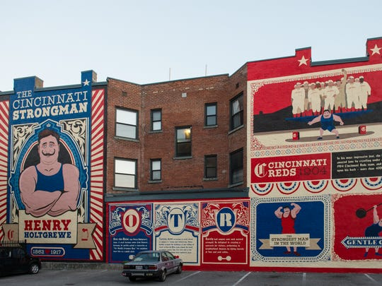 The 6-mile self-guided ArtWorks mural tour includes
